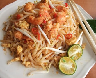 Fried Laksa Noodle with Tom- Yum Paste