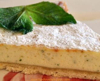 FLAO-SPANISH CREAM CHEESE MINT TART