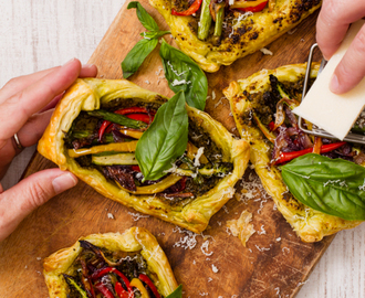 Easy Roasted Vegetable Tartlets