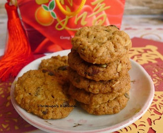 Oats And Sun flower Seed Cookies