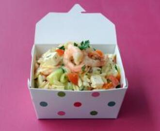 Prawn and Pasta Rice Salad