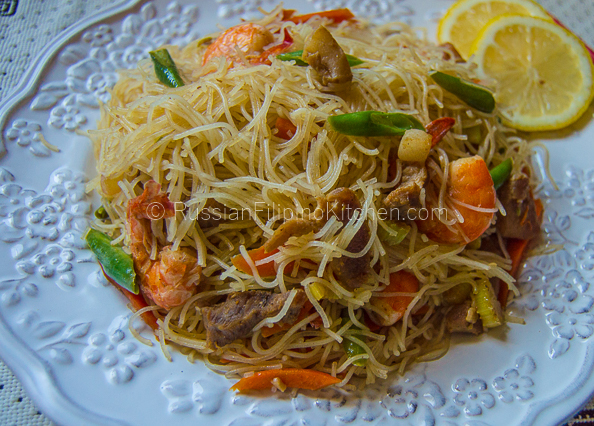 Easy Pancit Bihon Recipe