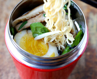 Ramen Noodle Soup To Go (Easy)