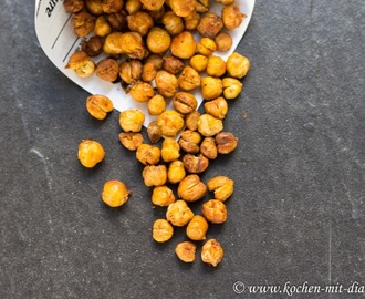 Gesunde Snacks: Geröstete Kichererbsen/ Healthy snacks: roasted chickpeas