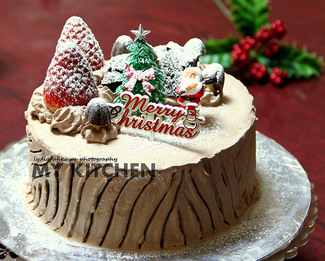 Christmas Cake [Christmas is about giving!]