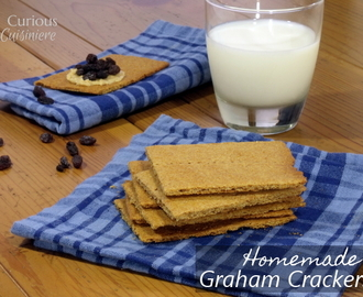Homemade Graham Crackers #SundaySupper