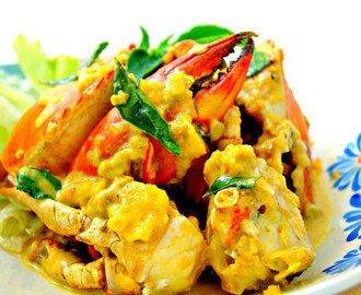 Salted Egg Crab [Finger licking good]