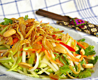Thai Mango Salad [Sweet and Sour, Very Appetizing]