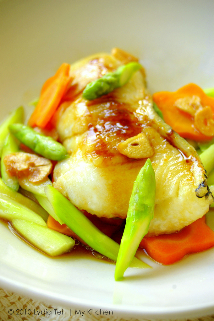 Grilled Cod Fish [Y3K Recipes Issue No. 53]