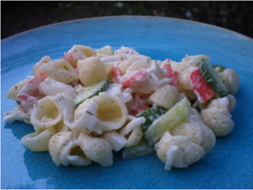 Recipe: Crab Pasta Salad*