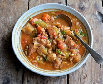 January Comfort Food: Chicken and Pearl Barley Stew