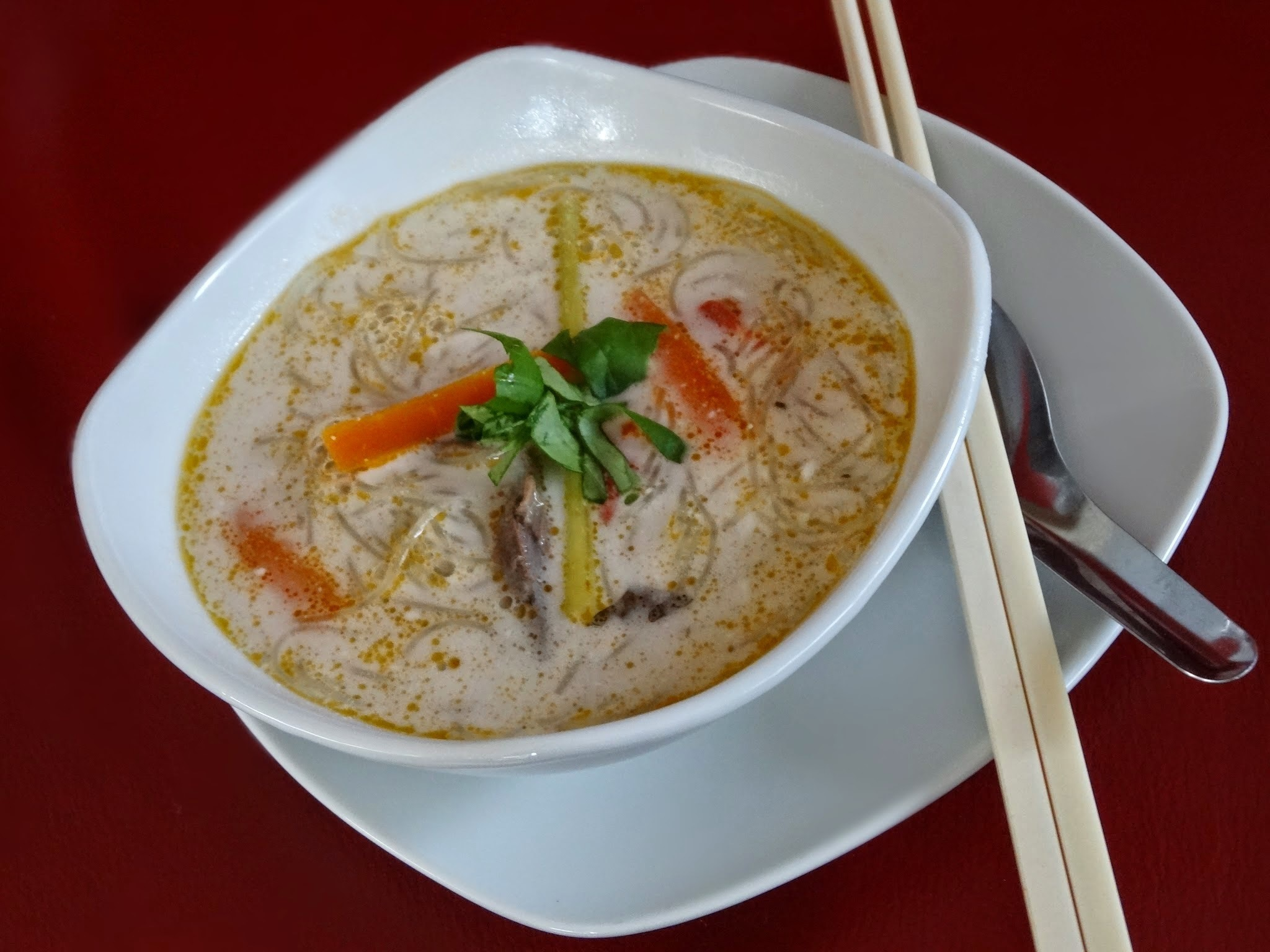 Schnelle Thai Suppe