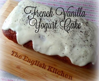 French Vanilla Yogurt Cake