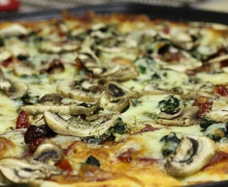 A Stove-less Summer: Meal #4 – Homemade Pizza