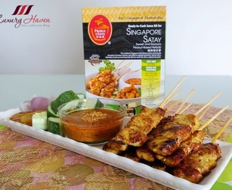 Prima Taste Singapore Satay Meal Sauce Kit Review Is Out!