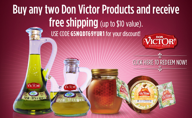 Save On Don Victor Gourmet Honey + Recipes