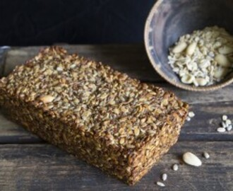Gluten Free and Vegan Nut and Seed Loaf
