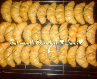 Buttermilk crossaints