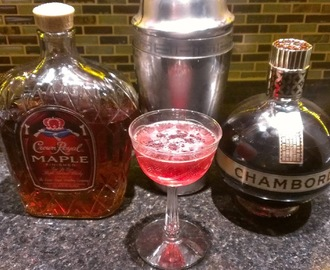 Maple Kiss Martini