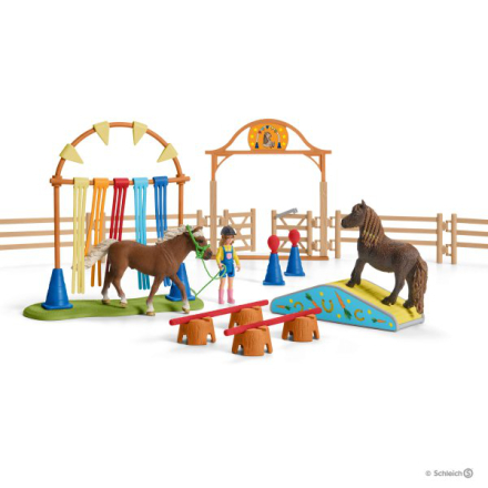 Schleich pony agility training 42481
