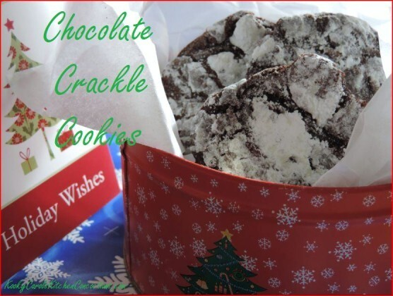 Christmas Baking Recipes – Chocolate Crackle Cookies