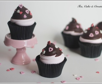 Marshmallow and Chocolate Cupcakes