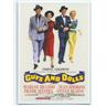 VINTAGE MOVIE POSTER SAMLARKORT- GUYS AND DOLLS