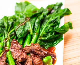 Chinese Broccoli with Beef