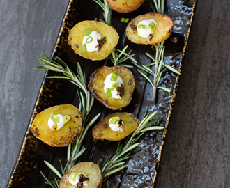 Roasted Potato Bites Appetizer