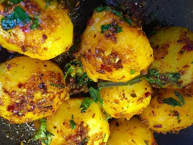 Tikka potatoes | my recipe