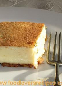 STOVE TOP MILK TART