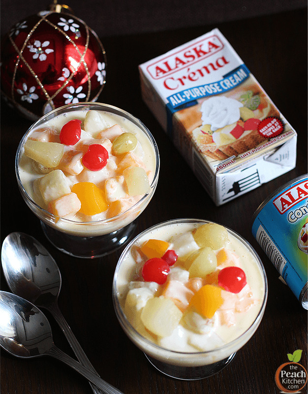 Fruit Salad Made with Alaska Crema + Merry Cremas Festival 2014