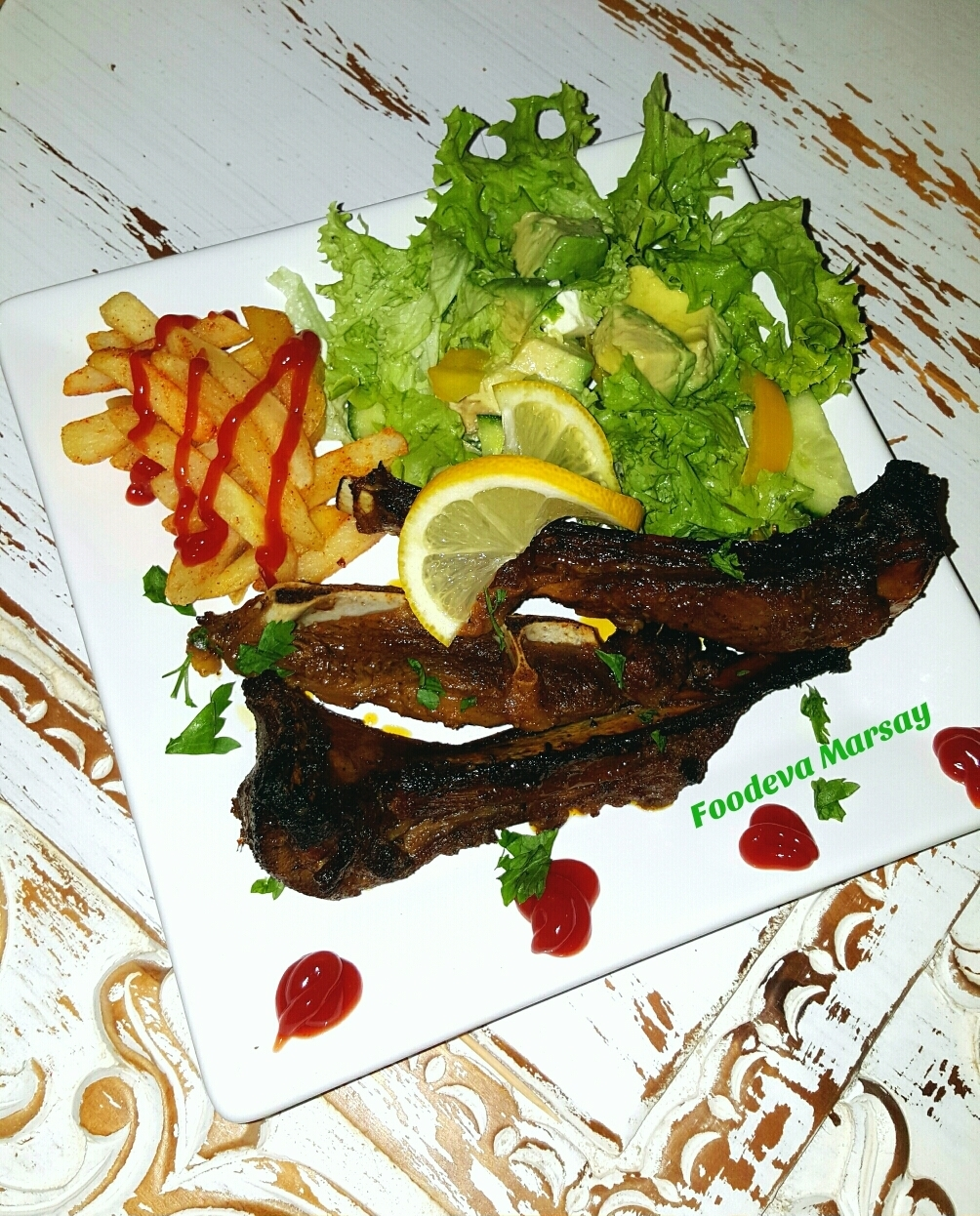 Easy 'Finger-Licking' Lamb Chops/Ribs