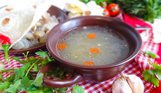 Хаш (Armenian Traditional Soup «Khash»)