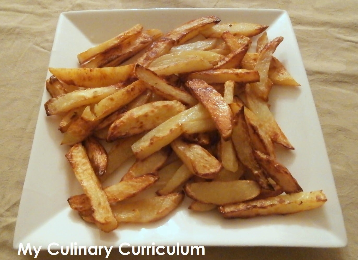 Frites au four maison (Homemade chips)
