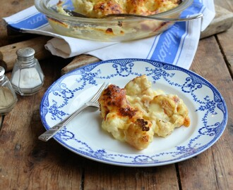Healthy Cauliflower Cheese