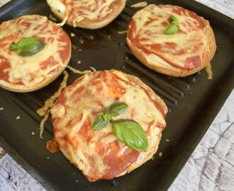Gluten and Dairy Free Egg-In-The-Hole Pizza Bagels