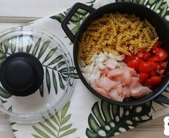 One pot pasta de frango