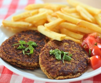 Recept: Burger van Kidney Bonen (vegan)