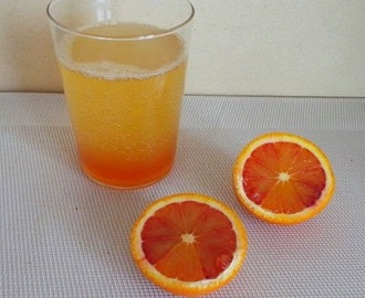 Sirop d'oranges sanguines (Blood orange syrup)