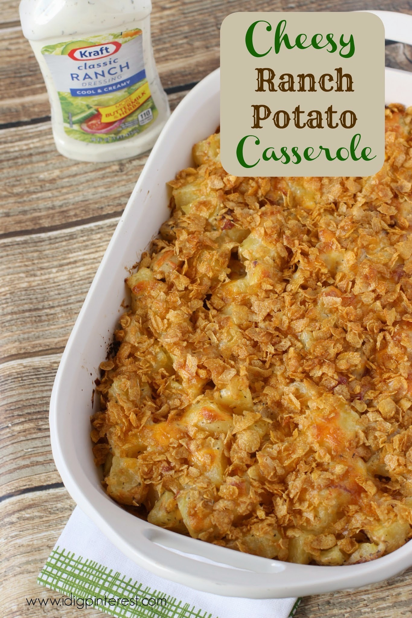 Cheesy Ranch Potato Casserole: A Salad Dressing Recipe to Rock Your World!