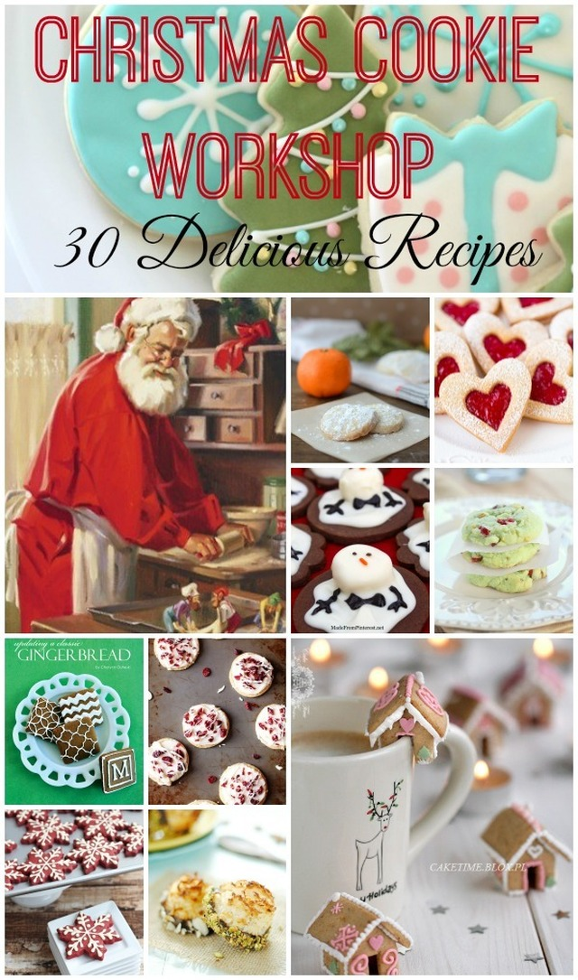 Christmas Cookie Workshop: 30 Cookie Recipes