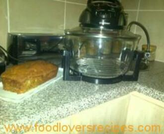 BANANA LOAF IN CONVECTION OVEN