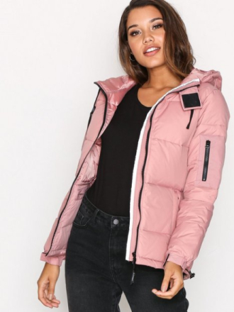 D Brand Eskimå Down Jacket Dunjackor Dusty Pink