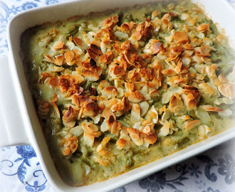 Green Bean & Almond Casserole