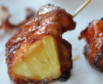 Savory Bacon Pineapple Bites