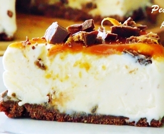 Cheesecake de chocolate Mars