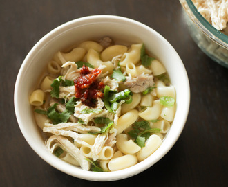 Vietnamese Chicken Soup (With Elbow Macaroni)
