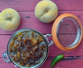 Cape Malay Peach & Chilli Chutney