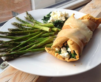 Fit Fam Bakers - Challenge V - Spinach-feta roll